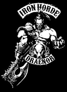 Iron Horde T-Shirt - WoW T-Shirt is $12.99 today at Pop Up Tee!