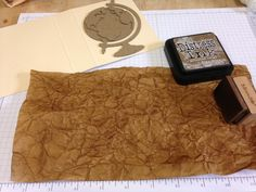 Faux Embossed Leather Travel Journal by Shelly Hickox  Hi all! It seems like every project I do tends to have the word 'faux' in the title. I can't help it – I love using my supplies to create inte...