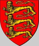 """Edward """"Longshanks"""" King of England Coat of Arms  De gueules, à trois léopards d'or"""
