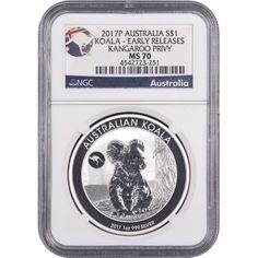 2016 Australia 1oz Silver Lunar Monkey w//Lion Privy NGC MS70 Flag Label