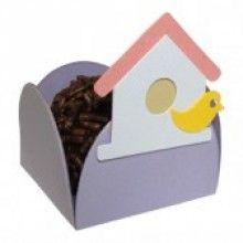 Forminha Artesanal Casa de passarinho (10 unidades)