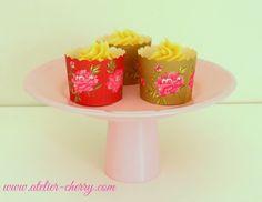 ATELIER CHERRY: Suporte p/ cupcake reutilizando copo de requeijão
