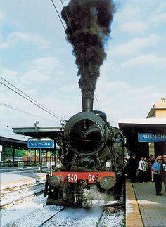 Treno Storico con Gr.940 a Sulmona