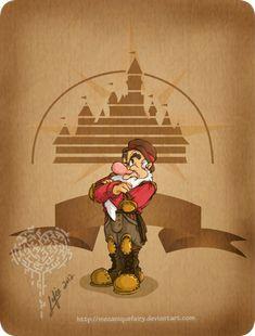 Disney steampunk: Grumpy by *MecaniqueFairy on deviantART