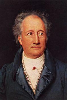 (1749 -1832) Foi um importante romancista, dramaturgo e filósofo alemão. Era formado em Direito e chegou a atuar como advogado por pouco tempo. Como sua paixão era a literatura, resolveu dedicar-se a esta área. Fez parte de dois movimentos literários importantes: romantismo e expressionismo. Apresentou também um grande interesse pela pintura e desenho. Obras:Torquato Tasso, Ifigênia em Taúrides e as Elegias Romanas. Porém, sua grande obra foi o poema 'Fausto'.―Johann Wolfgang von Goethe