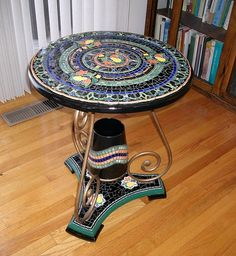 2003 Best Mosaic Tables Images In 2019 Mosaic Glass Mosaic Crafts
