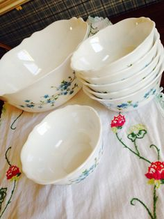 Arcopal veronica French pyrex vintage