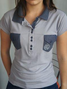 Veja nosso novo produto Polo Feminina P! Se gostar, pode nos ajudar pinando-o em algum de seus painéis :)