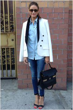 THE OLIVIA PALERMO LOOKBOOK: Olivia Palermo at New York Fashion Week V