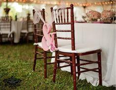 Reception Chair Decor Wedding Reception Photos on WeddingWire