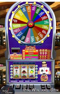 PinWinSpin with Bonus Counter | Spin Magic Slot game