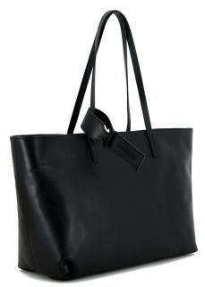 Gianni Chiarini Shopper Glattleder Schwarz Alessandra - Bags & more Shopper, Madewell, Tote Bag, Bags, Fashion, Pouch, Hand Bags, Silver, Leather