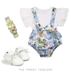 72bf08d9f SALE 45% OFF + FREE SHIPPING! SHOP Our Lovely White Floral Look for Baby