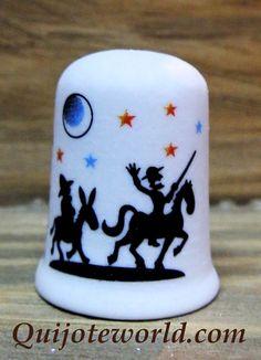 Dedales colección don Quijote de la Mancha: cerámica - Quijoteworld, ideas para decorar  www.quijoteworld.com