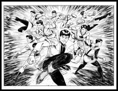 Legion of Karate Kids by Cory Smith