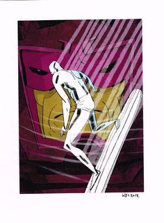 Galactus Silver Surfer Comic Art