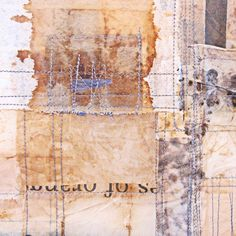 Jennifer Coyne Qudeen - work in progress november 2014, marks by machine