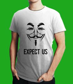 They are Anonymous. They are Legion. They do not forgive. They do not forget.   You should have Expected them.  Just Rs. 499 or $10