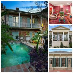 10 dream home listings in New Orleans. These homes inspire the magic of Mardi Gras.  Don't you just love the colours and decor of these homes? Take a closer look:  https://www.zillow.com/blog/10-gorgeous-new-orleans-homes-sale-212555/ #realestate #MardiGras #colourful #NewOrleans #homes #design