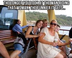 The longer you look at that man riding that woman...