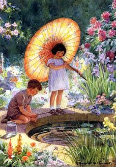 Margaret Tarrent—Children at Little Pond