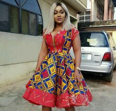 Pictures of our most lovely ankara styles of all time for every beautiful lady out here. Some try these lovely ankara styles African American Fashion, African Inspired Fashion, African Print Fashion, Africa Fashion, Short African Dresses, Latest African Fashion Dresses, African Print Dresses, Ankara Fashion, African Attire