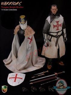 1/6 Crusader Knight Templar Brother ACI24A Figure by Aci Toys | Man of Action Figures