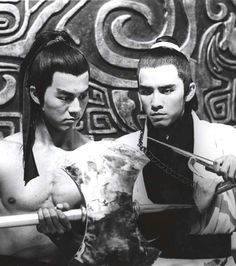 Two Shaw Brothers legends David Chiang and Ti Lung