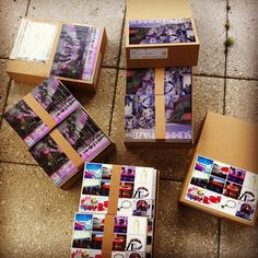 Whole lot of postcards.