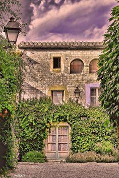 Peratallada ,Baix Empordà ,Catalonia by Milketa Costa, Spain, Memories, Dreams, Mansions, House Styles, Home Decor, Entryway, Facades