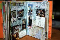 smashbook, als Reisetagebuch