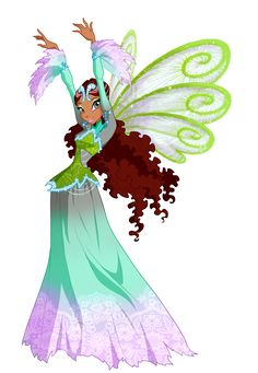 Winx club aisha .