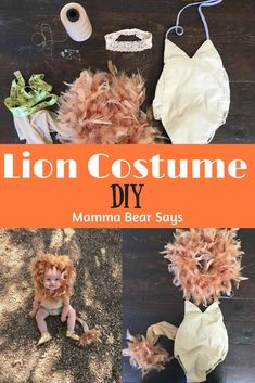 Looking for a fast, easy, and inexpensive costume for your baby? Check out this DIY lion costume perfect for your little one! Looking for a fast, easy, and inexpensive costume for your baby? Check out this DIY lion costume perfect for your little one!