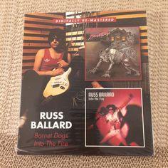 Russ Ballard Barnet Dogs and Into The Fire CD Music Digitally Remastered  #BritishInvasion
