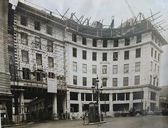 The Building of Lewis's Birmingham Sept 1933 Birmingham City Centre, Birmingham Uk, Fairy Lights, Past, 18th, Nostalgia, Photographs, England, Street View