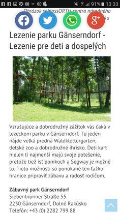 Lezecký park Gansendorf