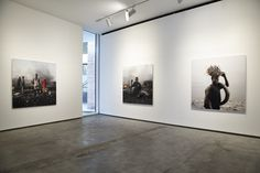 I will go there take me home - Curated by Gregory McCartney. Artist Pieter Hugo. The Tall Gallery at the MAC, Belfast
