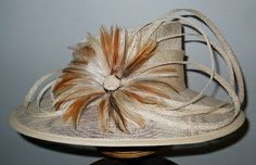 Natural by PETRO VERMEULEN #millinery #hats #HatAcademy
