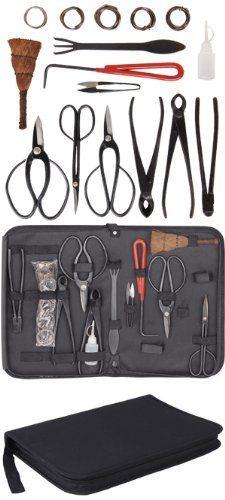 Indoor Bonsai Pruning Tools 10 pcs Tree Care Set: http://www.amazon.com/Indoor-Bonsai-Pruning-Tools-Tree/dp/B004YTI1XG/?tag=greavidesto05-20