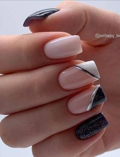 --Acrylic short square nails design for summer nails, Short square nails color ideas, Natural gel short square nails design, Pretty and cute acrylic nails design Wow Nails, Cute Toe Nails, Fancy Nails, Pretty Nails, Square Nail Designs, Nail Art Designs, Nails Design, Classy Acrylic Nails, Best Acrylic Nails