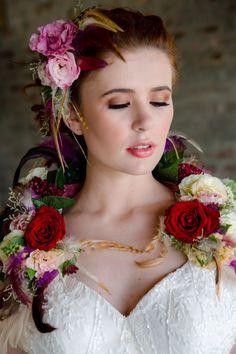 Bridal Flowers, Event Venues, Flower Decorations, Flower Arrangements, Hair Makeup, Romance, Bride, Creative, Floral
