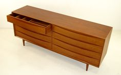 Impressive Danish Modern Dresser Designed by Arne Vodder image 3 Cool Furniture, Furniture Design, Modern Dresser, Bedroom Dressers, Danish Modern, Modern Bedroom, Interior Inspiration, Bedding Sets, Home Furnishings