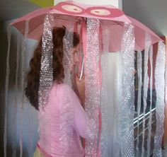 Thrifty Homemade Jelly Fish Costume  - Jackalope Ranch