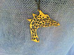 Adam Giraffe in brass