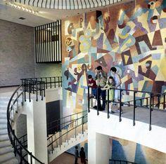 Carlos Mérida's HemisFair '68 Mosaic Mural