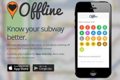 Discover new places in NYC using the Offline App, you can even use it in the subway! Check out the interview with the app developer here: www.elegran.com/edge/2014/03/finding-hidden-gems-in-nyc-theres-an-app-for-that App Development, Places To Eat, Interview, Nyc, Gems, Real Estate, York, City, Check