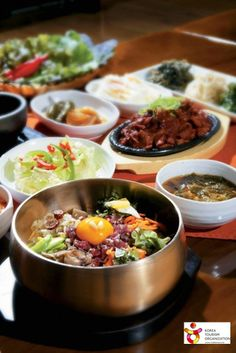 Korea_boiled rice with assorted mixtures (비빔밥)