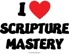 I Love Scripture Mastery Book Of Mormon Scriptures, Love Scriptures, Scripture Mastery, Lds Seminary, Doctrine And Covenants, Teaching Techniques, Spiritual Thoughts, General Conference, How To Memorize Things
