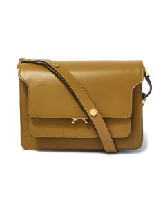 Olive Trunk Bag by Marni