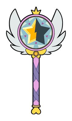 Season 2 Wand by Star-Butterfly